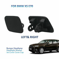 Delantero Parachoques Lavafaros Boquilla Tapa para BMW X5 E70 Izquierda+Derecho