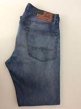 """Ralph Lauren Mercer Hombres Jeans, Calce Ajustado recto, W34"""" L34"""" Denim Azul en muy buena condición"""