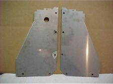 1957 CHEVROLET Chevy CORE SUPPORT PANELS, Stainless Steel, pair, New