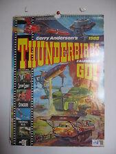 THUNDERBIRDS CALENDAR 1988 UFO STINGRAY JOE 90 CAPTAIN SCARLET  GERRY ANDERSON