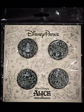 Disney Pin Alice In Wonderland Cheshire Hatter Chalk Sketch Starter Booster Set