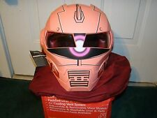 Masei 610 Red Zaku Gundam Motorcycle Bike Bull Char Open Face Arai Helmet -LARGE