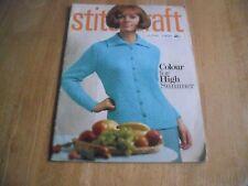 Original Vintage Stitchcraft Magazine June 1966