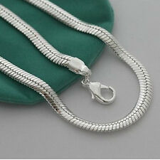 """Cool 925Sterling Silver 10MM 20"""" Snake Chain Strong Men Chains Necklace YN209"""