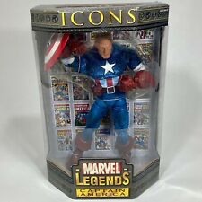 Marvel Legends Icon Captain America Collector Edition Figure 2006 Sealed