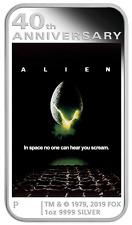 2019 Alien 40th Anniversary 1oz .9999 Silver Proof $1 Coin