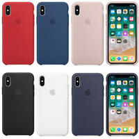Genuine Original OEM Soft Silicone Case Cover For Apple iPhone X 10