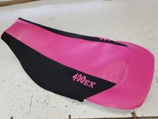Honda TRX 400ex GRIPPER seat cover 400 ex logo fits 1999--2007 years pink/blk/g