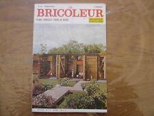 1969 LE BRICOLEUR plans conseils bricole et brocante SOMMAIRE EN PHOTO n° 62