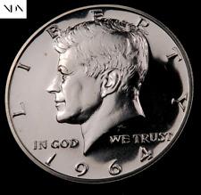 1964 Kennedy Half Dollar ~ Choice Proof ~ 90% Silver #191