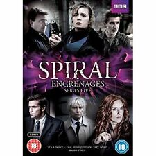 Spiral Series 5 Complete Season Five Fifth Region 4 DVD