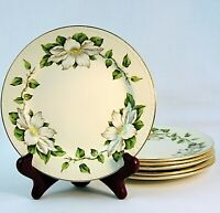 Homer Laughlin Eggshell Georgian Cotillion 6 Bread and Butter Plates Made in USA