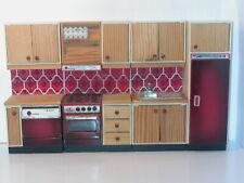 Vintage Lundby Puppenhaus Küchenelemente 1980er Jahre