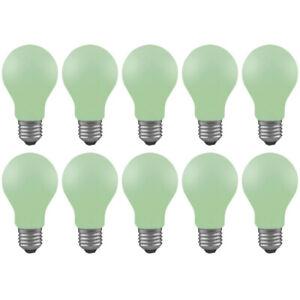 10 x Paulmann 400.50 40W Glühbirne E27 Softgrün Leuchtmittel Dimmbar