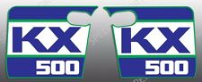 KAWASAKI 1988 88 KX500 KX 500 SHROUD DECALS GRAPHICS WICKED TOUGH VERSION THICK