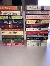 Mixed Lot Of 22 Paperback Romance Books Susan Kearney, Fern Michaels