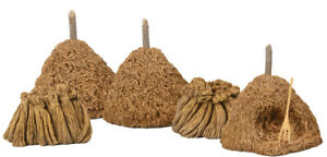 Britain 17612 18th-20th Century Hay Stacks with Sheaves of Wheat 5 pieces NEW