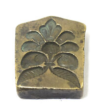 Pendant Making Stamp Dye Floral Design Jewelers Mould Collectible.  G46-369 US