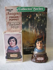 ARAGORN vintage LOTR Finger Puppet figure 1978 Tolkien Lord of the Rings w/ BOX