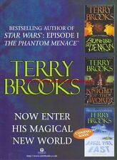 "Terry Brooks ""Now Enter His Magical New World"" 1999 Magazine Advert #4512"