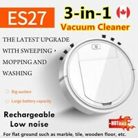 3in1 Rechargeable Smart Vacuum Cleaner Sweeping Robot Strong Suction FREE SHIP