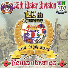 **36th Division  100th Anniversary 1916-2016 *NEW* - LOYALIST/ULSTER/ORANGE CD