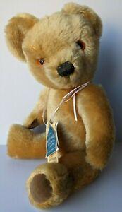 MOHAIR TEDDY BEAR MADE IN ENGLAND. MERRYTHOUGHT ARTICULATED IRONBRIDGE SHROPS
