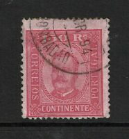 Portugal SC# 76a, Used, some top bending/minor creasing, Hinge Remnants - S7789