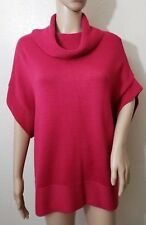 New COLDWATER CREEK Wool Blend Cowl Neck Tunic Sweater Women's Size Medium 10/12