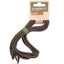 brasher Walking Hiking Boot/Shoe Replacement Laces - Brown Black 140cm