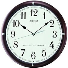 UK Only Seiko Radio Controlled Wall Clock Qxr303b-new