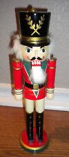 "Nutcracker Wood Soldier Christmas Holiday Decor 12"" (#12)"