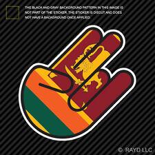 Sri Lankan Shocker Sticker Die Cut Decal Self Adhesive Vinyl Sri Lanka LKA LK