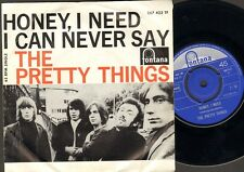 "PRETTY THINGS Honey I Need  SINGLE 7"" I Can Never Say MONO 1965 Holland"
