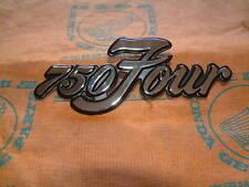 Honda CB750 CB 750 Four K1 K2 Emblem Seitendeckel original side cover emblem
