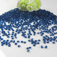 5000 Navy Blue 1/3 CT Diamond Wedding Confetti Party Table Crystals Decorations