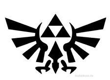 JDM OEM Aufkleber Zelda Triforce Anime Logo Aufkleber 12 cm Comic