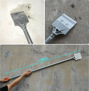 "Floor & Wall Scraper Tool – 53"" Long Handle Tile Thinset & Adhesives Removal Bit"
