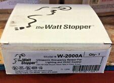 Wattstopper W-2000A Model Stopper Ultrasonic Sensor Lighting & HVAC Control