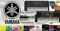 Yamaha SX900-SX700-S975-970-S775770- * Expansion Styles+Sounds(DOWNLOAD)