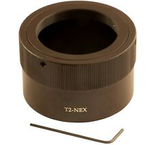 T2-NEX Mount Adapter T2/T Ring For Sony Alpha NEX-7,NEX-F3,NEX-5R,NEX-6,NEX-3N