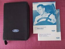 FORD MONDEO (2005 - 2007) USER MANUAL - HANDBOOK INCLUDES ST VERSIONS (YJL 1694)