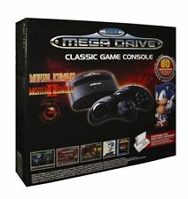 Retro Game Console SEGA Mega Drive Arcade Classic 80 Games & 2 Controller