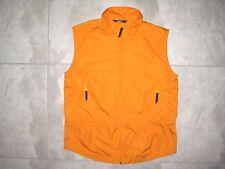 Vintage REI R.E.I. Orange Hunting Light Sleeveless Jacket Vest USED MEDIUM