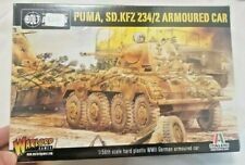Warlord Games: Bolt Action: 28mm PUMA SD.KFZ 234/2 ARMOURED CAR (Plastic)
