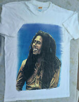 vtg Bob Marley t Shirt RARE 96 Made In jamaica great graphic double sided XL
