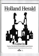 "KLM Inflight Magazine ""HOLLAND HERALD "" Bordmagazin September 2016"
