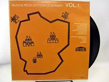 Musical Recollections of Germany Vol 1 - LP Record Mono 7G-100 beer garden songs
