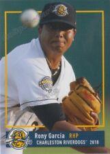 2018 Charleston RiverDogs Rony Garcia RC Rookie NY Yankees