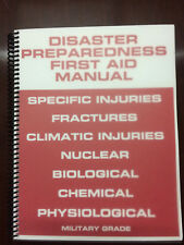 Disaster Preparedness First Aid Manual Survival Manual Prepper Manual Bugout Bag